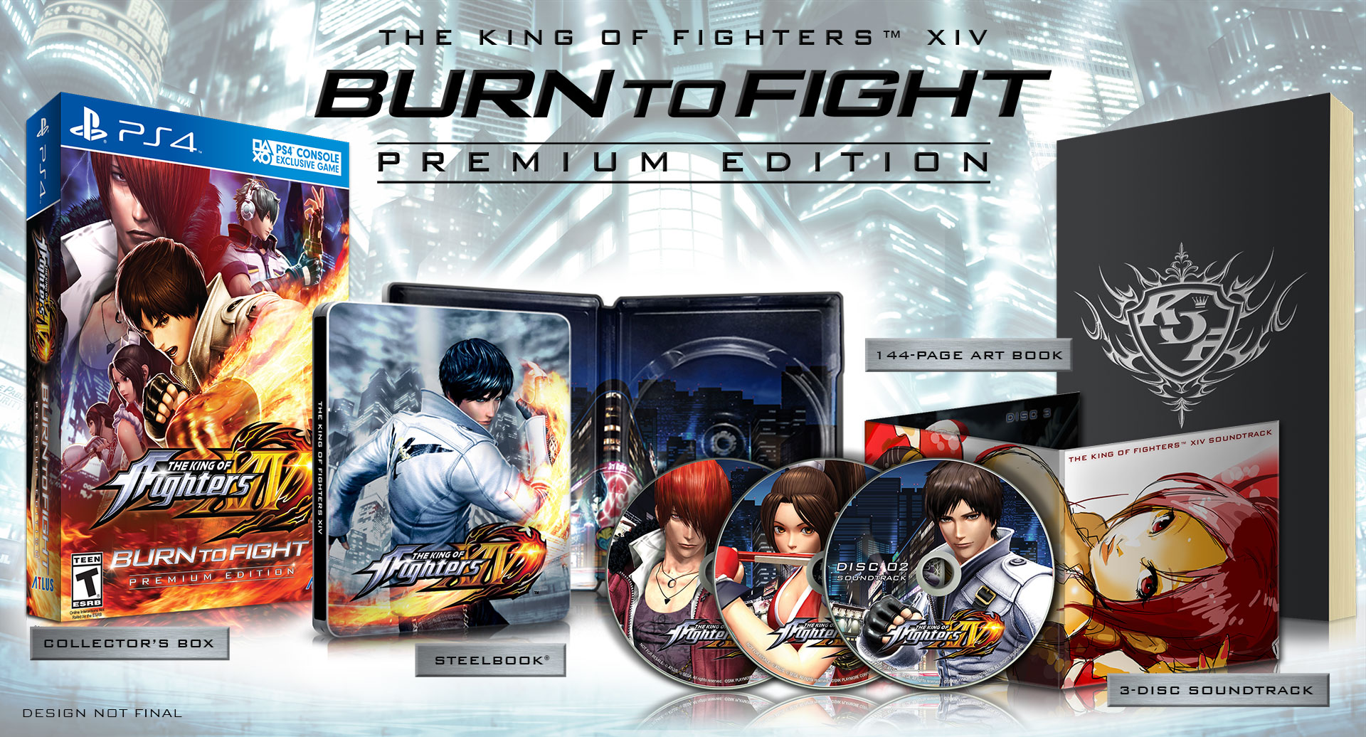 The King Of Fighters Xiv Official Us Website