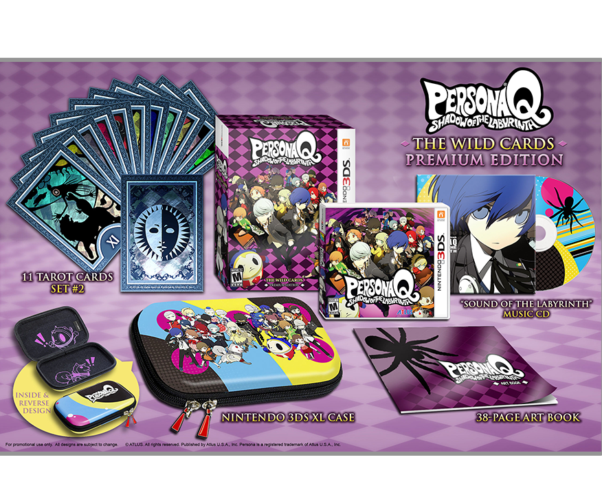 Persona Q: Shadow of the Labyrinth is now available on the
